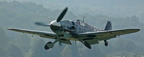 A restored Messerschmitt Bf 109G-6