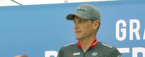 Lance Armstrong at the 2010 Tour