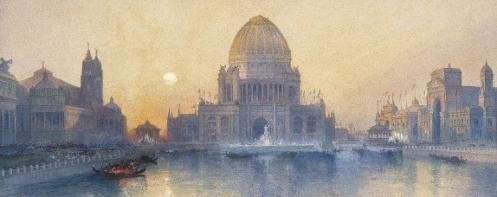 Brooklyn Museum, Chicago's World Fair, by Thomas Moran