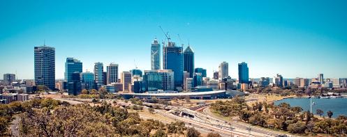 Perth Skyline Feb 2011