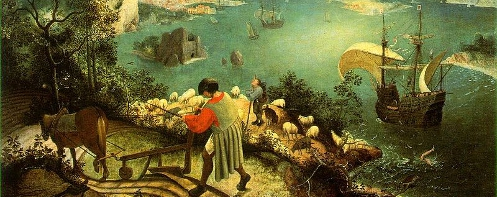 Bruegel's Landscape With The Fall Of Icarus