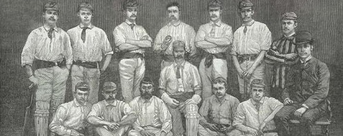 Philidelphians Cricket Team 1884