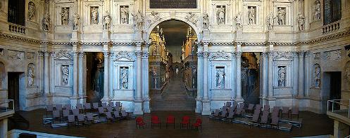 Teatro Olimpico, Vicenza, Veneto