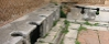 Ancient Roman toilets at Ostia