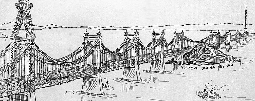 Proposed Bay Area Bridge