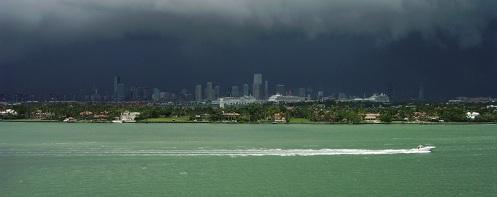 Storm over Miami