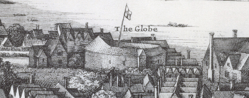Wenceslaus Hollar's impression of The New Globe c1638