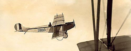 Curtiss JN-4 'Jenny' formation training