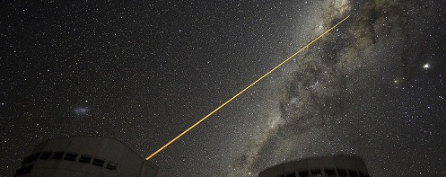 A Laser Strike at the Galactic Centre