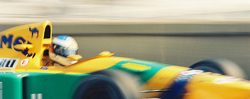 Michael Schumacher at Monaco in 1992