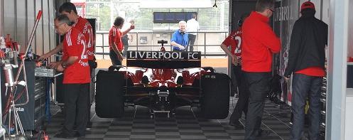 SF Liverpool FC car