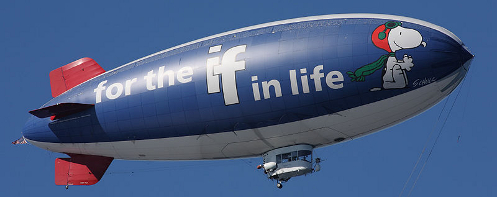 Metlife Snoopy II blimp