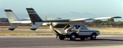 AVE Mizar flying car