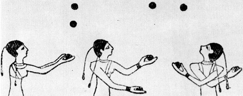 Early Egyptian juggling art