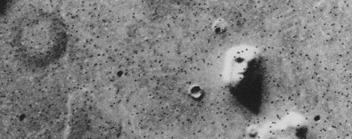 Viking's Martian Face