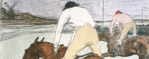 Toulouse-Lautrec's 'The Jockey'