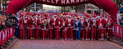 2012 Liverpool Santa Dash