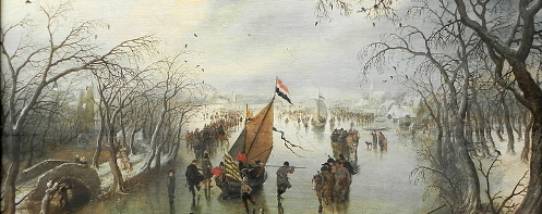 Adriaen Pietersz' Der Winter
