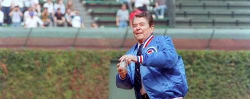 Ronald Reagan 1st pitch