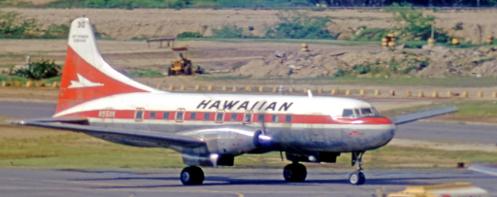 Hawaiin Airlines Convair 640