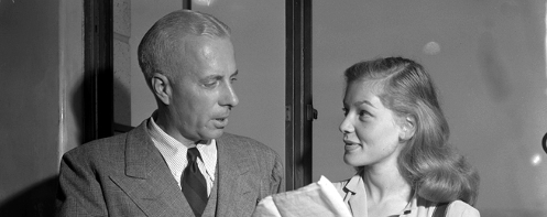 Howard Hawks and Lauren Bacall